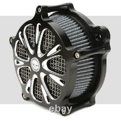 Filtre De Prise D'air Nettoyant Pour Harley Softail Dyna Touring Street Glide Road King