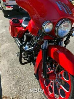 Garde Moteur Sur Mesure Highway 4 Harley Bar Accident Touring Road King Street Glide