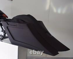 Harley Bagger Stretched Bags And Fender Street Glide Road King Ultra Classic