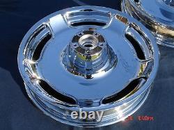 Harley Chrome Street Glide Road King Custom Touring Wheels 00-08 Exchange Progra