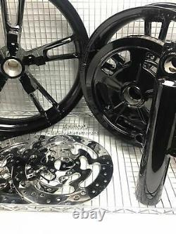 Harley Enforcer Roues Gloss Black 2014-19 Road King Street Glide (échangeur)