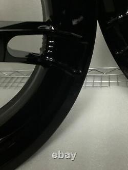 Harley Roues D'application Gloss Black Road King Street Glide #2 (échange)