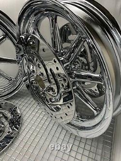 Harley Street Electra Glide Road King Touring Wheels 2000 08 Jantes (échange)
