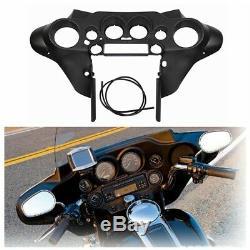 Intérieur Avant Noir Fit Carénage Pour Harley Electra Road King Street Glide 96-13