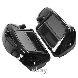 Lower Vented Leg Fairing Fit Pour Harley Touring Street Glide Road King 2014-2021