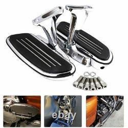 Mont Footboard Passager Pour Touring Road King Street Glide 93-2021