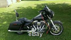 Personnalisé Grand Sissy Bar Dosseret Harley Touring Route King Street Electra Glide