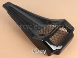 Pour Harley Davidson Stretched Chin Spoiler 97-13 Street Glide Touring Road Roi