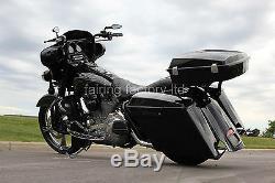 Razor Tour Pack W Joint Base En Métal Hd Harley Touring Rue King Road Glide 97-13