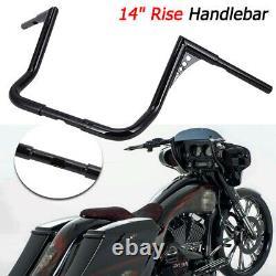 Rise 14 Ape Poignée De Cintrebar Pour Harley Touring Road Electra Glide Street King