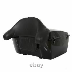 Roi Tour Pak Coffre Pour Harley Davidson Road Street Glide Pack & Support 09-13