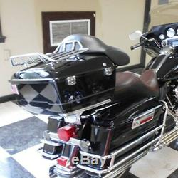 Roi Tour Pak Tronc Pour Harley Davidson Road Street Glide Pack & Support 09-13