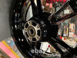 Roues Black Forcer Mag Harley Bagger Flhx Street Road Glide King 2009^ 19 16