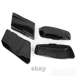 Sac De Selle Hard Saddlebags Pour Harley Road King Electra Street Glide 2014-2020