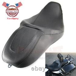 Seat 2 Two Up Leather For Harley Street Glide Road King Cvo Flhr Flhx 08-19 États-unis