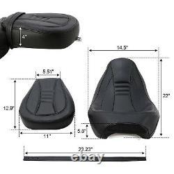 Siège Passager Pour Harley Touring Road King Ultra Cvo Limited Street Glide