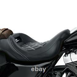 Siège Pilori Avant Adapté À Harley Touring Street Glide Road King 09-21