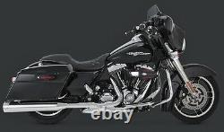 Vance & Chines 4.5 Destroyer Slip-on Mufflers Harley Electra Glide Road King Street